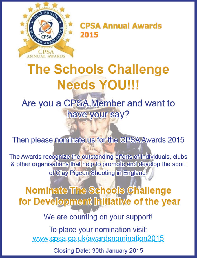 CPSA - Vote for us!