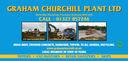 Graham Churchill advert