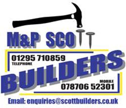 M&P Scott Builders logo
